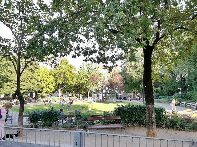 Hamerlingpark um die Ecke