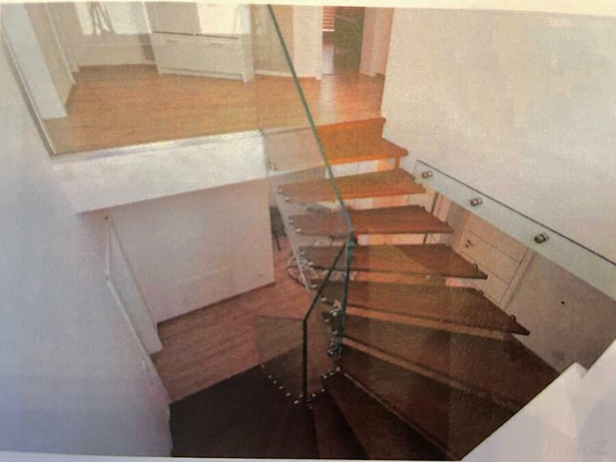 Symbolbild der späteren Treppe