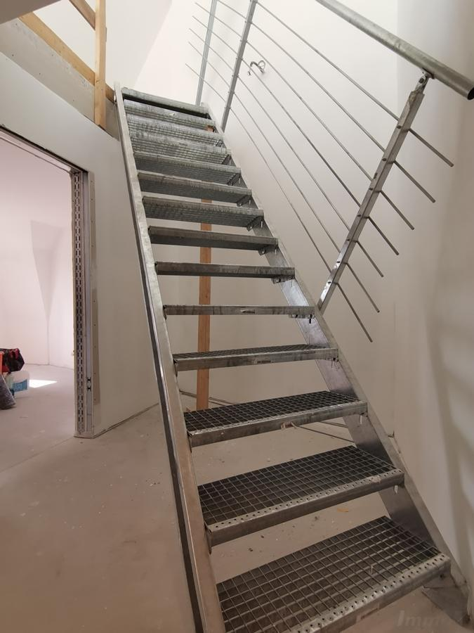 provisorische Treppe