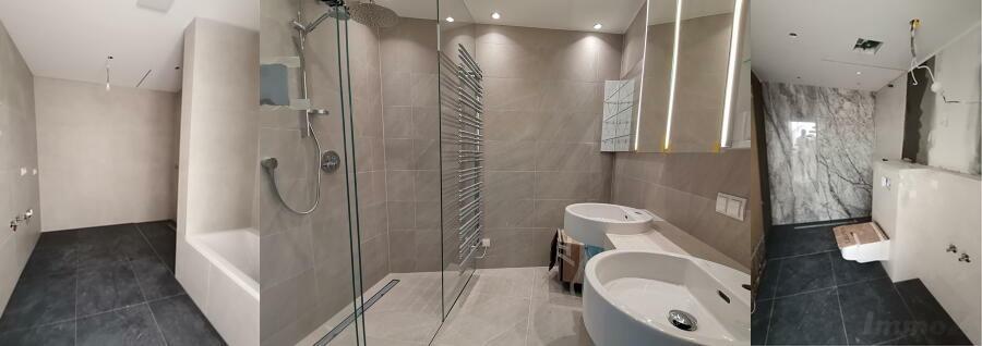 Beispiele Badezimmer-Ausstattungen  - nicht im belagsfertig enthalten