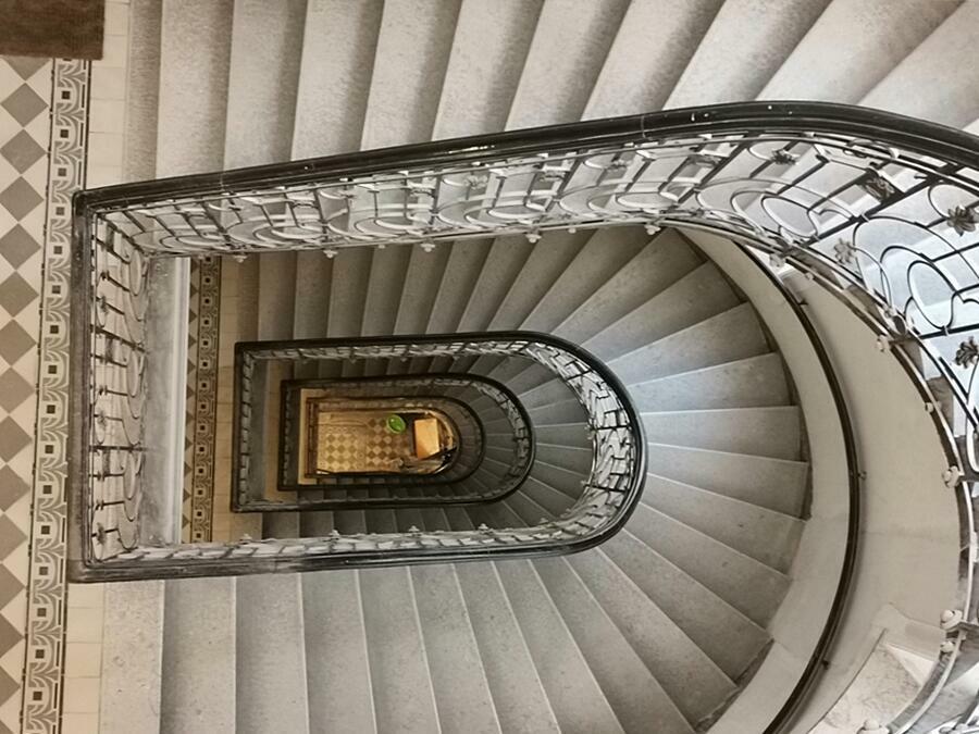 Treppenhaus im Altbestand